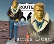 James Deans als Dekofigur Werbefigur Lebensgroß
