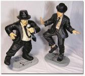 Blues Brothers als tolle Dekofiguren