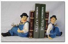 Dick & Doof Stan Laurel Oliver Hardy Buchstützen
