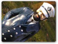 Kapitän als Werbefigur Maritim Dekoration Seemann