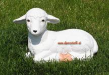 Lamm Schaf Schäfchen Dekofigur Figur