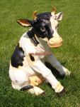 Kuh Dekorationsfigur Aufstellfigur Ländliche Bauernhof Figur Deko