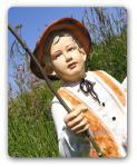 Schäfer Dekofigur Gartenfigur Figur Garten Statue