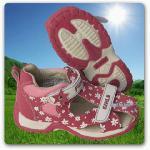 Kinder Mädchen Sandalen Sandale rosa mit Blümchen