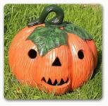 Kürbis Dekofigur Halloween Figur Deko Garten
