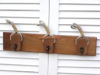 Schlüsselbrett schlüsselkasten Garderobe Maritim Deko Dekoration Harkenleiste