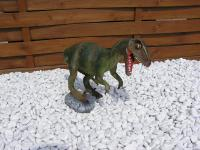 Velociraptor Figur zur Deko
