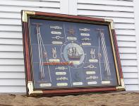 Maritime Deko Konotentafel Zum Heranzoomen mit der Maus über das Bild fahren Ähnlichen Artikel verkaufen? Selbst verkaufen Details zu Seemannsknoten Wandbild Sylt