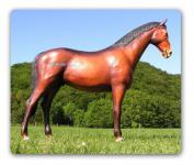 Pferd in Lebensgröße Dekofigur Tierfigur Figur