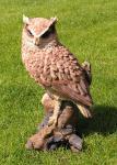 Eule Dekofigur Vogel Statue Skulptur
