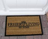 Fußmatte Fußabtreter Kokosfaser im Home Design Impressionen Art Deco Türmatte