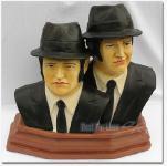 Blues Brothers als tolle Dekofiguren Figur Büste