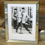 Elvis Presley Wandbild Spiegelrahmen Fotografie