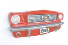 Mustang Autofront als Dekoration und Deko