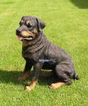 Rottweiler Hund Tierfigur Dekofigur Statue Figur