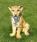 Löwe Dekofigur Aufstellfigur Figur Deko Afrika