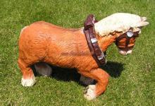 Kaltblüter Pferd Figur Tierfigur Statue Skulptur