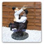 Dick und Doof Tisch Figur Statue Couchtisch Deko