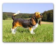 Hush Puppy Basset Hound Figur Skulptur Deko Fan