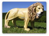 Löwe Dekofigur Afrikanischer Figur Statue Afrika