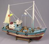 Kutter Schiffsmodell Modellschiff Fischkutter Deko