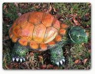 Schildkröte als Dekofigur für den Garten