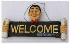 Welcome Schild für Heim und Gewerbe
