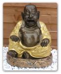 Buddha Dekofigur Statue Figur Glücksbringer