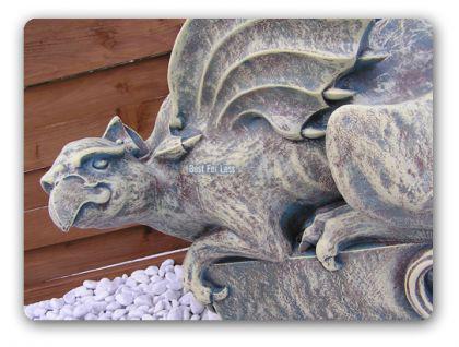 Drache Figur Dekofigur Gothic Style Wasserspeier - Vorschau 1
