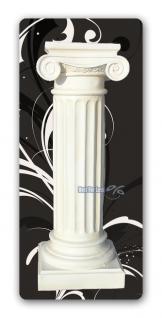 Säule weiße Dekosäule Rom - Vorschau 1