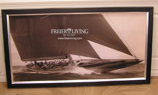 Wandbild Maritim Segelyacht Segelschiff Nostalgie Antik Deko