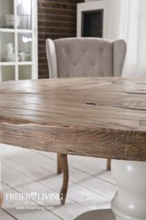 runder esstisch esszimmertisch shabby chic massivholz. Black Bedroom Furniture Sets. Home Design Ideas