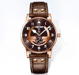 Hochwertige Armbanduhr mit Schweizer Quarz-Uhrwerk - Die Legende der deutschen Luftfahrt