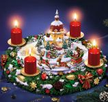 Sankt Nikolaus' leuchtender Weihnachtstraum