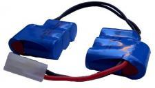 9, 6 V NT - 1300mAh AR Saddlepack 6-punktgeschweißt, 4*4 Anordnung 1.5qmm 3n1s