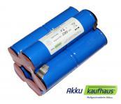 Akku für Kowalski speed 1250 und Classic 1250 / NiMH 12V 10000mAh 2i5nz (Mono...