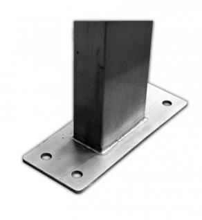 10er 2x5 V2A Edelstahl Premium Briefkasten Standanlage - Vorschau 2