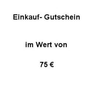 Einkaufsgutschein Wert 75 € - Vorschau