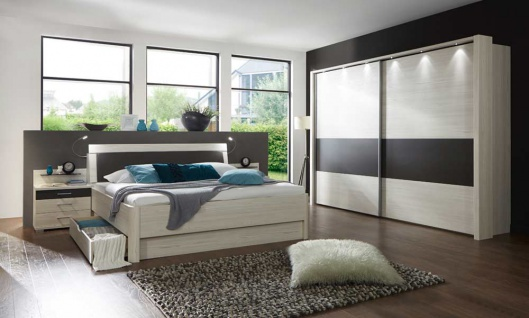 schlafzimmer havanna online bestellen bei yatego. Black Bedroom Furniture Sets. Home Design Ideas