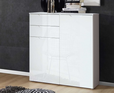 schubladenkommode wei hochglanz g nstig bei yatego. Black Bedroom Furniture Sets. Home Design Ideas
