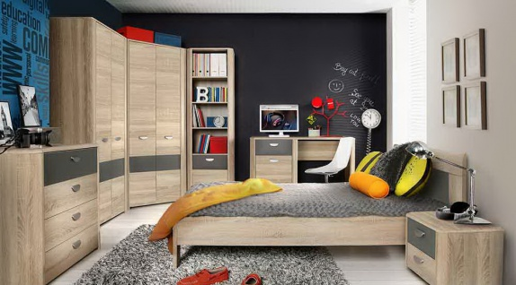 jugendzimmer eckschrank online bestellen bei yatego. Black Bedroom Furniture Sets. Home Design Ideas