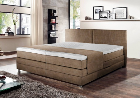 boxspringbett beige 180x200 mit bettkasten alle ideen. Black Bedroom Furniture Sets. Home Design Ideas