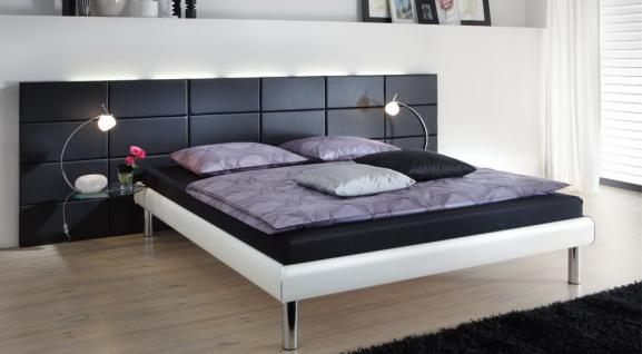 betten 200 x 200 wei online bestellen bei yatego. Black Bedroom Furniture Sets. Home Design Ideas