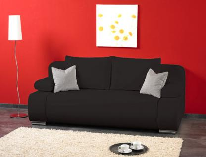 schlafsofa mit bettkasten und federkern bei yatego. Black Bedroom Furniture Sets. Home Design Ideas