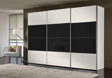 schwebet renschrank schwarzglas g nstig bei yatego. Black Bedroom Furniture Sets. Home Design Ideas
