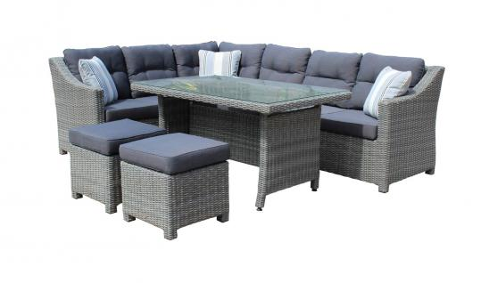 polyrattan lounge set online bestellen bei yatego. Black Bedroom Furniture Sets. Home Design Ideas