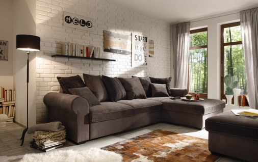 ecksofa grau g nstig sicher kaufen bei yatego. Black Bedroom Furniture Sets. Home Design Ideas