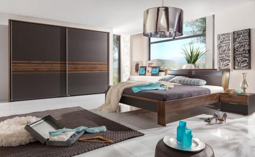 schlafzimmer nussbaum bett online kaufen bei yatego. Black Bedroom Furniture Sets. Home Design Ideas