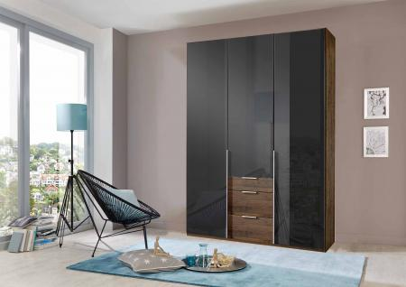 kleiderschrank nussbaum schwarz g nstig bei yatego. Black Bedroom Furniture Sets. Home Design Ideas