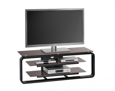 tv rack glas schwarz online bestellen bei yatego. Black Bedroom Furniture Sets. Home Design Ideas